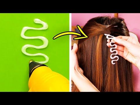 40 Smart Hair Styling Tricks And Diys Youtube In 2020 Hair Styles Hair How To Curl Your Hair
