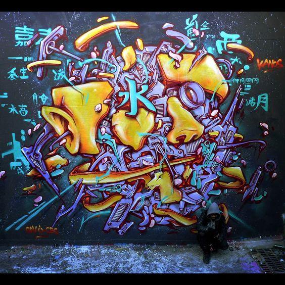 Kanos #streetart love this one