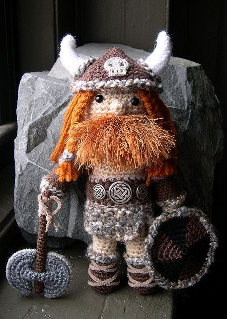 lael viking hat pdf crochet pattern