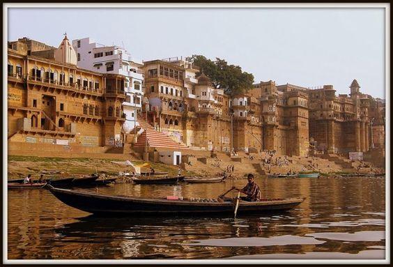 Lugares increíbles del planeta. Varanasi