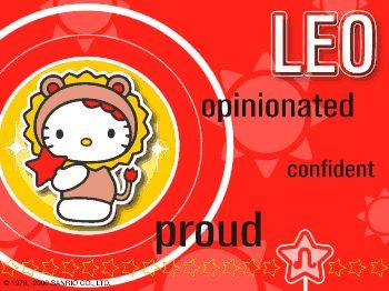 Hello Kitty Animated Zodiac – Leo