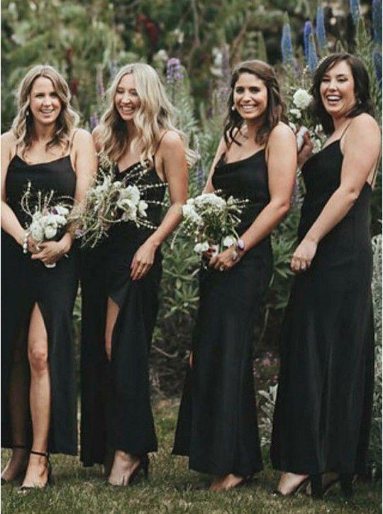 Chiffon Bridesmaid Dress Black Bridesmaid Dress Simp05301234 Black Bridesmaid Dresses Long Black Chiffon Bridesmaid Dresses Black Bridesmaid Dresses