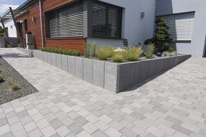 the 25+ best betonsteine gartenmauer ideas on pinterest, Gartenarbeit ideen