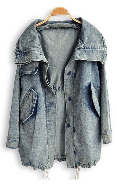 Denim Trench (please excuse my mini stone-wash love affair)