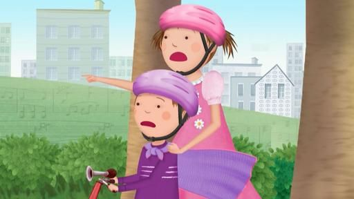 Pinkalicious And Peter Save Pinkville S Yarn Overload Problem With A Super Cool Diy Knitting Art Project Tune Unique Art Projects Visual Art Lessons Pbs Kids