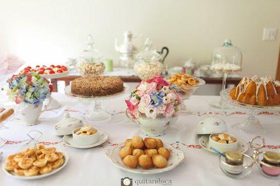Bella Fiore Decoração de Eventos: Chá de Aniversário Shabby Chic - Parte II