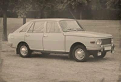 wartburg w353 hatchback prototyp cars from emw