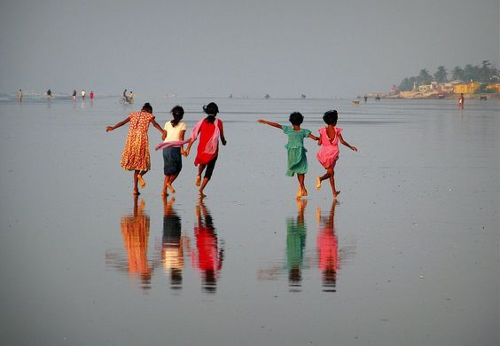 united children of India Photo by Nina Lozej -- National Geographic Your Shot