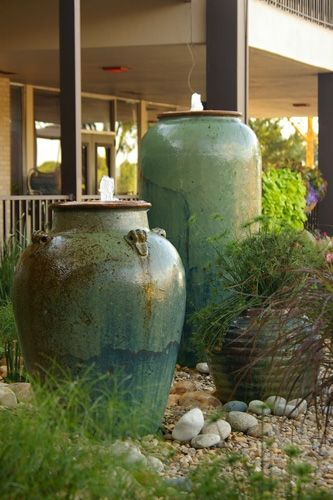 Pottery at at mr t 39 s patio furniture in nashville outdoor accents pinterest vinyls for Jacksons home and garden dallas