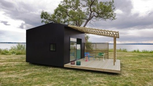 Mini House is a functional prefabricated modular home that comes delivered flat-packed and can be constructed on-site in just two days.