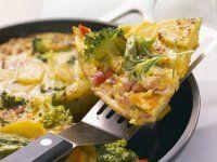 Rezept: Kartoffel-Omelett mit Gemüse