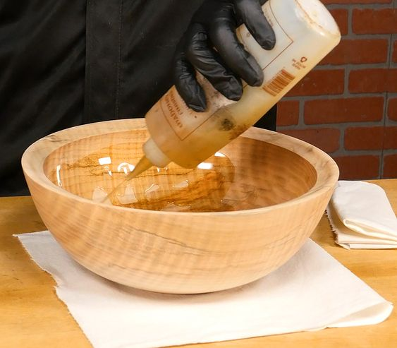 Applying a Food-Safe Wood Finish with Mahoney's Walnut Oil and Wax - Craft Supplies USA