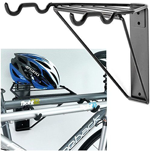 Gr8 Home Wall Mounted Folding 2 Bike Bicycle Cycle Storage Mount Rack Double Parking Hook Hol In 2020 Wall Mount Bike Rack Wall Mounted Bike Storage Bike Wall Storage