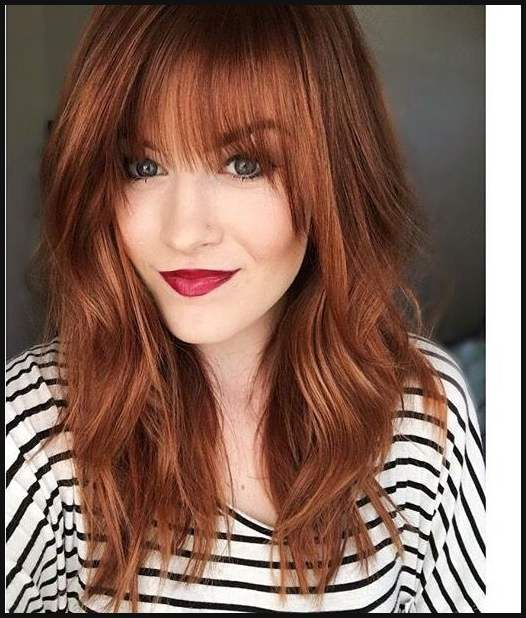 10 Wonderful Hairstyles For Ginger Hair Trendy Red Hairstyles Einfache Frisuren Hair Color Auburn Hair Styles Strawberry Blonde Hair Color