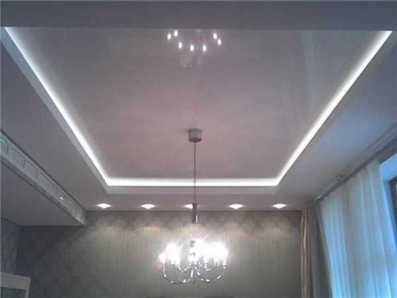 Led Ceiling Lights Usa : Glowing ceiling designs with hidden led lighting