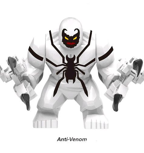 THING Rare Custom LeGo Big Figures Venom Thanos HULK IRON MAN MARVEL MOC