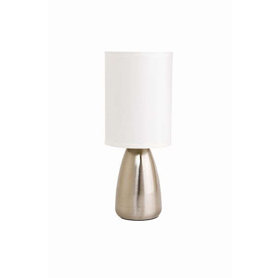 A touch lamp would be good if the room configuration means there is only one lamp on a bedside ...