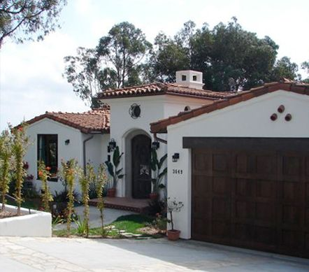 Spanish colonial i want this style garage door and front for Colonial garage
