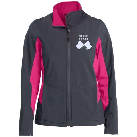 Port Authority® Ladies Core Colorblock Soft Shell Jacket