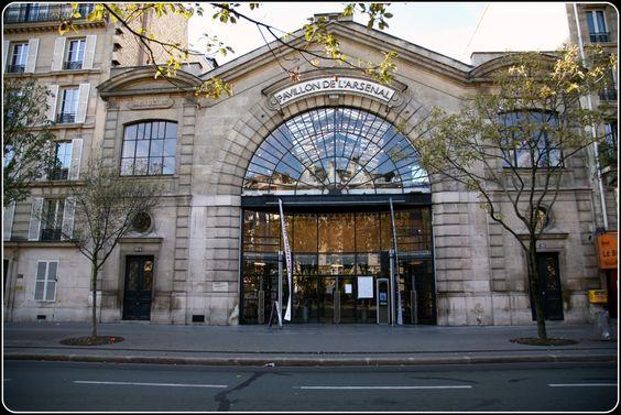 PAVILLON DE L'ARSENAL – CENTRE D'URBANISME ET ARCHITECTURE - PLACE TEILHARD DE CHARDIN - ARR 4