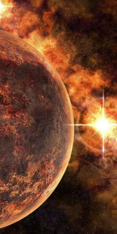 Space Planets High Resolution