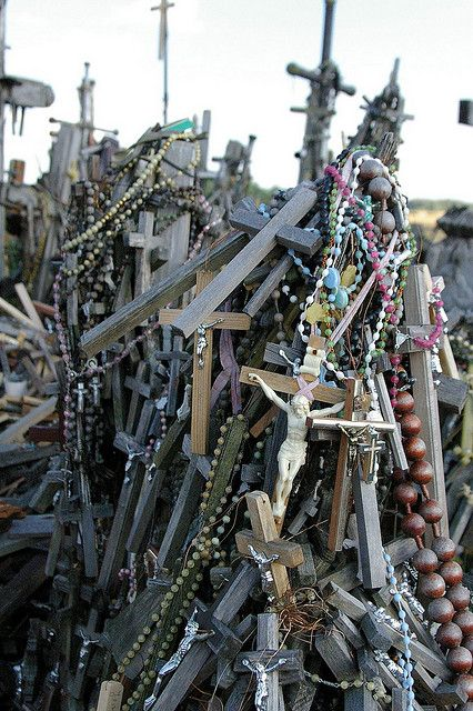 Lithuania, Hill of Crosses