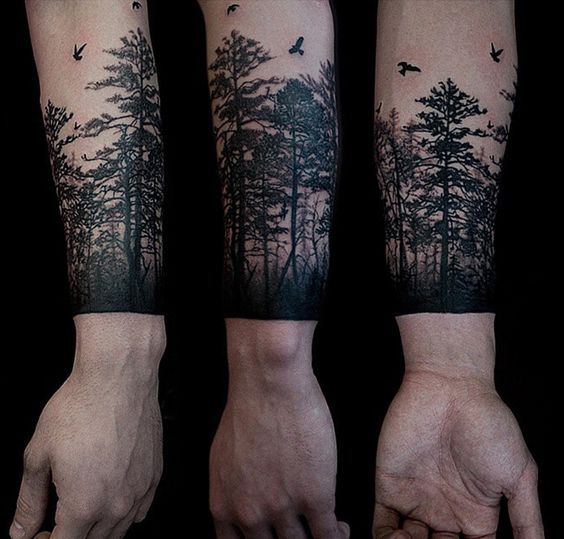 redwood tree tattoo ink roots pinterest trees tree tattoos and tattoos and body art. Black Bedroom Furniture Sets. Home Design Ideas