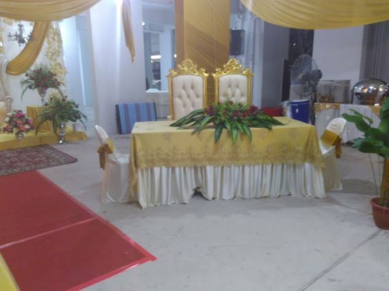 this is where the couple will sign the marriage certificate