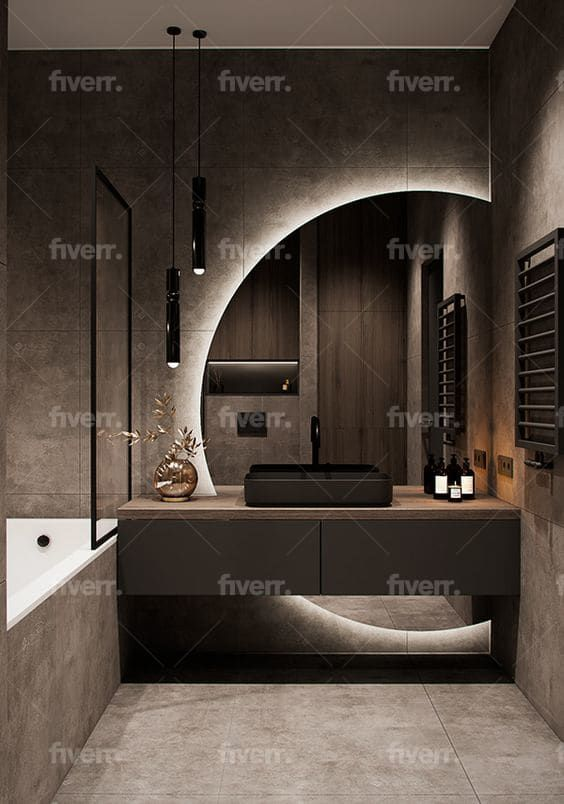 Kugokts I Will Design Interior And Exterior For All Your Projects For 20 On Fiverr Com Bathroom Interior Design Bathroom Design Luxury Home Room Design