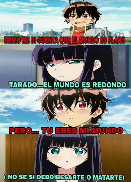 Que Anime Es Memes Memes De Anime Meme De Anime