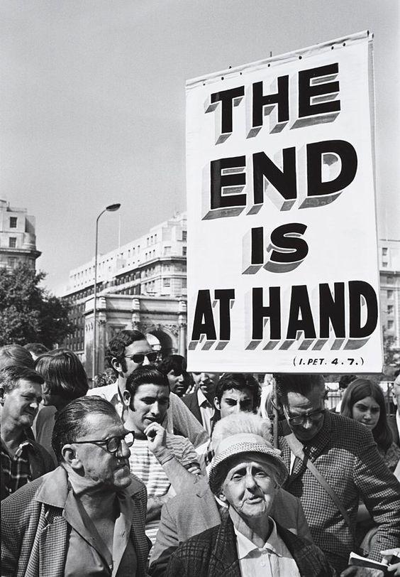 "John Gutmann - ""The End Is at Hand,"" Hyde Park, London (1970)"