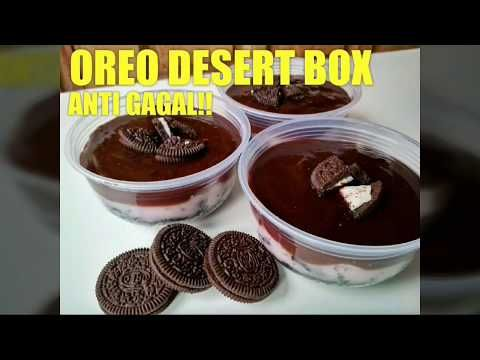 Oreo Dessert Box Tanpa Oven Dan Kukus Anti Gagal Youtube Kue Oreo Resep Makanan Penutup Makanan