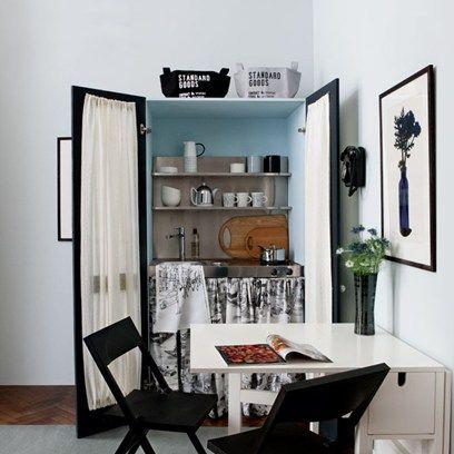 Small kitchens studio apartments and kitchen unit on for Kitchen units for studio apartments