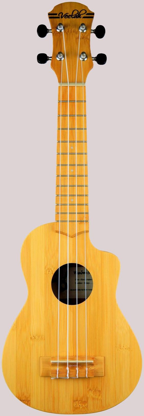 Veelah Vamboo Bamboo Acoustic Soprano