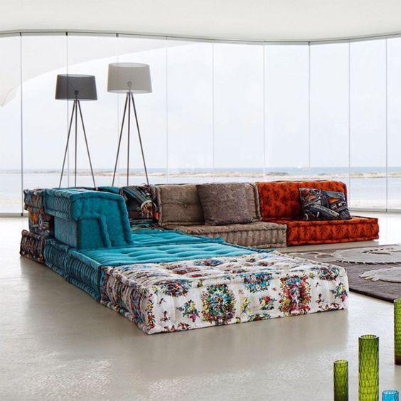 Canape Mah Jong Mobilier De Salon Canape Marocain Decoration Interieure
