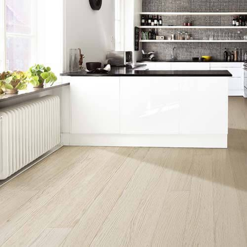 Kahrs Linnea Oak Dome Engineered Wood Flooring Habitat Collection Kitchen Flooring Engineered Wood Floors Oak Modern Kitchen Flooring