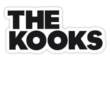 The Kooks Logo By Danerys Flipping Stickers Pinterest