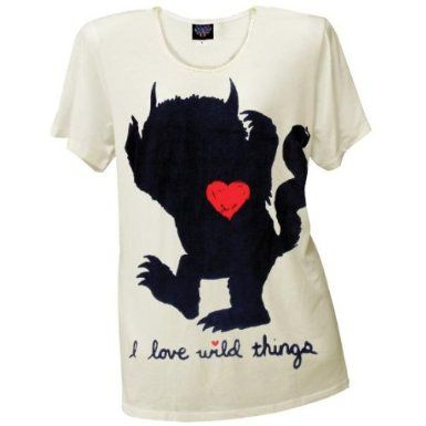 Perfect to wear to a wild things party!