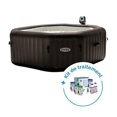 Raviday Pack Spa Gonflable Intex Pure Spa Jets Et Bulles 6 Personnes Kit De Traitement Au Brome Hth Spa Gonflable Spa Gonflable Intex Gonflable