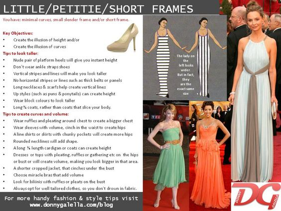 dress style and body type 74