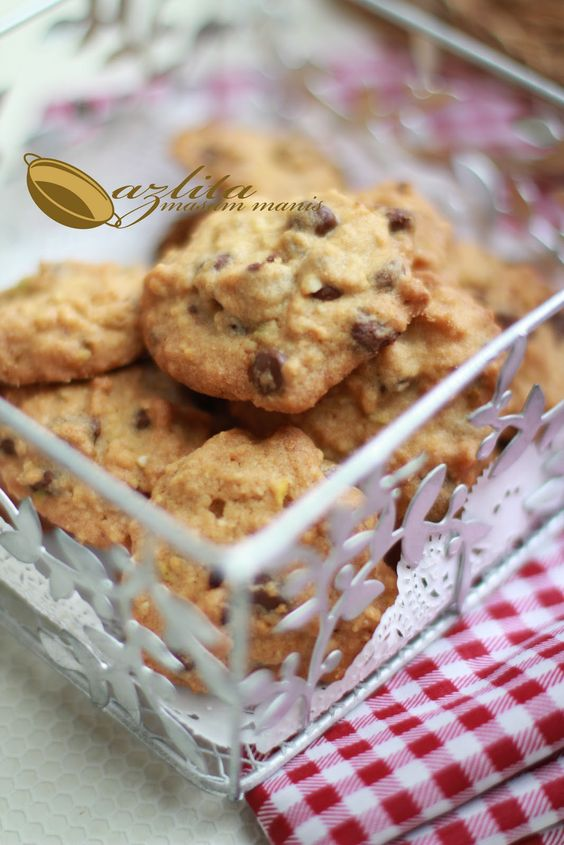 Nutella Chocolate Chip Cookies Resepi