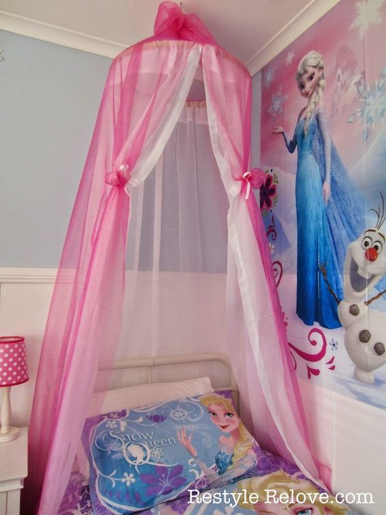 Diy bed new beds and bed canopies on pinterest for Diy baby crib canopy
