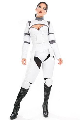 Fantasia Stormtropper Feminina