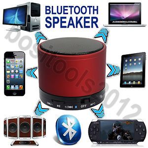 The Bluetooth Speaker is a small and powerful high quality speaker that will follow you everywhere; connects easily to any Bluetooth enabled device - cell phones, MP3 players, Laptops