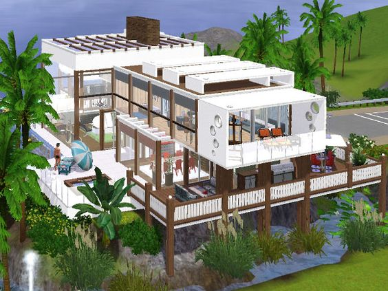 Explore sims dream house and more sims