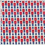 Tecido Estampado para Patchwork - Soldados Londrinos (0,50x1,40)