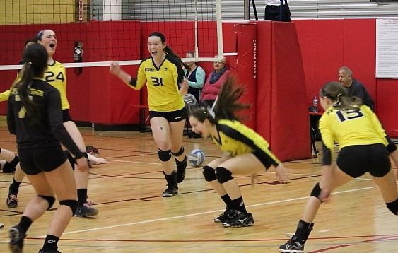 When your team just just blocked match point, and wins its second tournament.