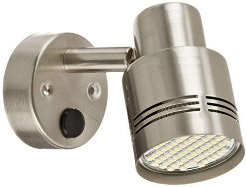 Amazon Com Ming S Mark 9090108 Stylish Camping 12v Led Reading Light Fixture Brushed Nickel Automotive In 2020 Led Reading Light Marine Led Lights Reading Light