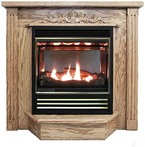 Buck Stove Model 1127 Vent Free Gas Fireplace With Prestige