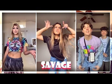 New I M A Savage Dance Challenge Tiktok Compilation 2020 Youtube Savage Justin Bieber Songs Dance